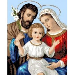 6056 Holy family - Tapestry canvas