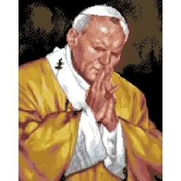 6060 Pope John Paul II - Tapestry canvas