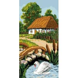 Cottage - Tapestry canvas