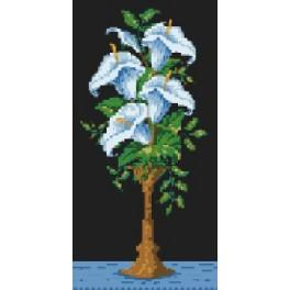 Arum lily - Tapestry canvas