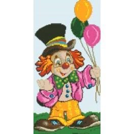 Clown - Tapestry canvas