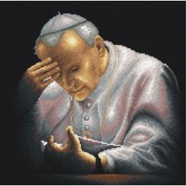 Pope John Paul II - Tapestry canvas