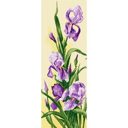 Irises Tapestry Canvas Coricamo