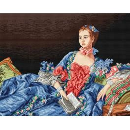 Madame Pompadour - Tapestry canvas