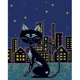 She cat - Tapestry canvas