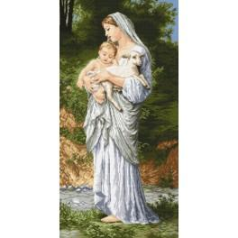Purity - Tapestry canvas