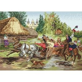 Cracov wedding - Tapestry canvas