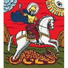 St. George - Tapestry canvas