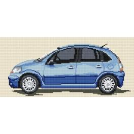 Citroen C3 - Tapestry canvas