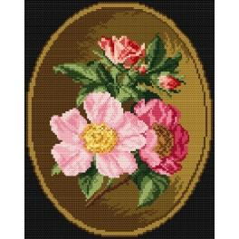 K 4260 Rosa canina - Tapestry canvas