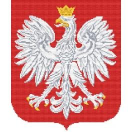 K 4290 Polish Coat of Arms - Tapestry canvas