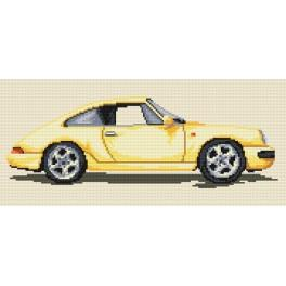 K 4299 Porsche - Tapestry canvas