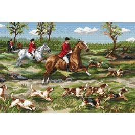 Hunting - Tapestry canvas