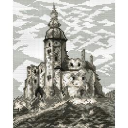 Castle in Siewierz - Tapestry canvas