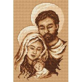 The Holy Family - Tapestry canvas