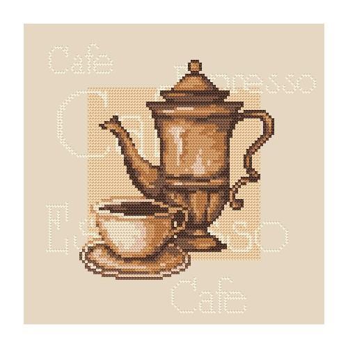 Kettle - B. Sikora-Malyjurek - Tapestry canvas