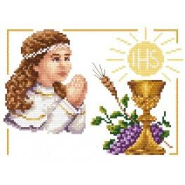 B.Sikora - First Holy Communion - Girl - Tapestry canvas