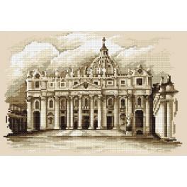 St. Peter's Basilica - B. Sikora-Malyjurek - Tapestry canvas