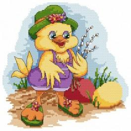 Duck with a sambucus - Tapestry canvas