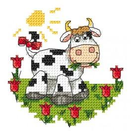 Cow - Tapestry canvas