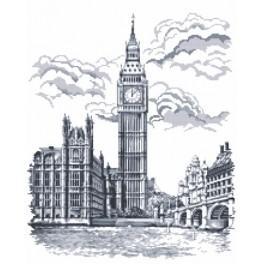 Big Ben - Tapestry canvas