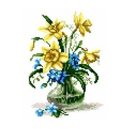 K 5822 Daffodils - Tapestry canvas