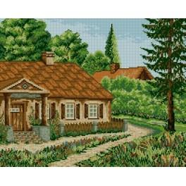 Mansion - Tapestry canvas