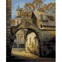 In the old town - Tapestry canvas