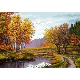 K 7080 Autumn - Tapestry canvas