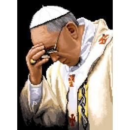 Pope Francis - Tapestry canvas