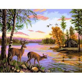 Forest Landscape - Tapestry canvas
