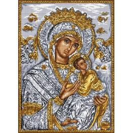 Icon - Holy Virgin with a child - Tapestry canvas