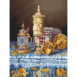 Baroque splendor - Tapestry canvas