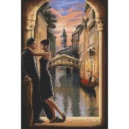 Venice in love - Tapestry canvas
