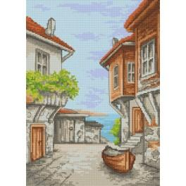 K 8290 Vacation memories - Sozopol - Tapestry canvas
