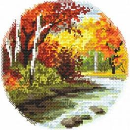 Four seasons - autumn - Tapestry canvas