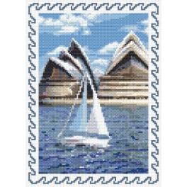 K 8403 Holiday memories - Australia - Tapestry canvas