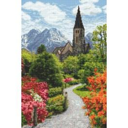 Alpine park - Tapestry canvas