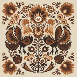 K 8546 Roosters - Tapestry canvas