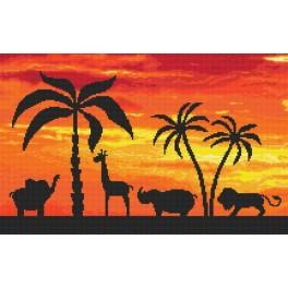 Out of Africa - Tapestry canvas