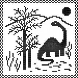 Dino - Tapestry canvas