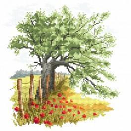 K 8692 Tapestry canvas - Secrets of an old oak tree
