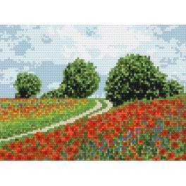 W 4147 ONLINE pattern pdf - A country road