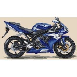 W 4153 ONLINE pattern pdf - Motorcycles - blue thunder