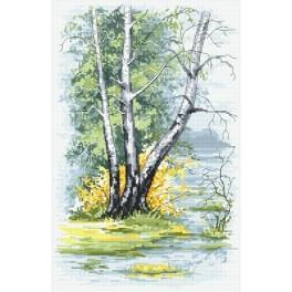 Online pattern - Spring birch