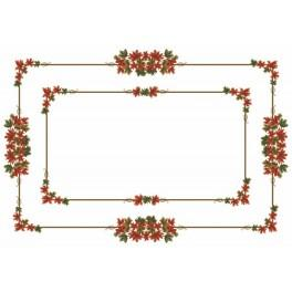 Online pattern - Tablecloth - Autumn leaves