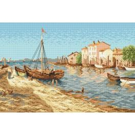Online pattern - Fisherman's village