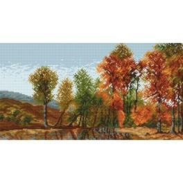 Online pattern - Autumn landscape