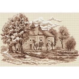 Online pattern - Old Mansion