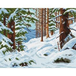 Online pattern - Winter forest